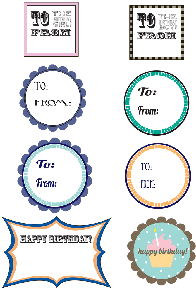 free printable birthday labels ; gift-tags-1
