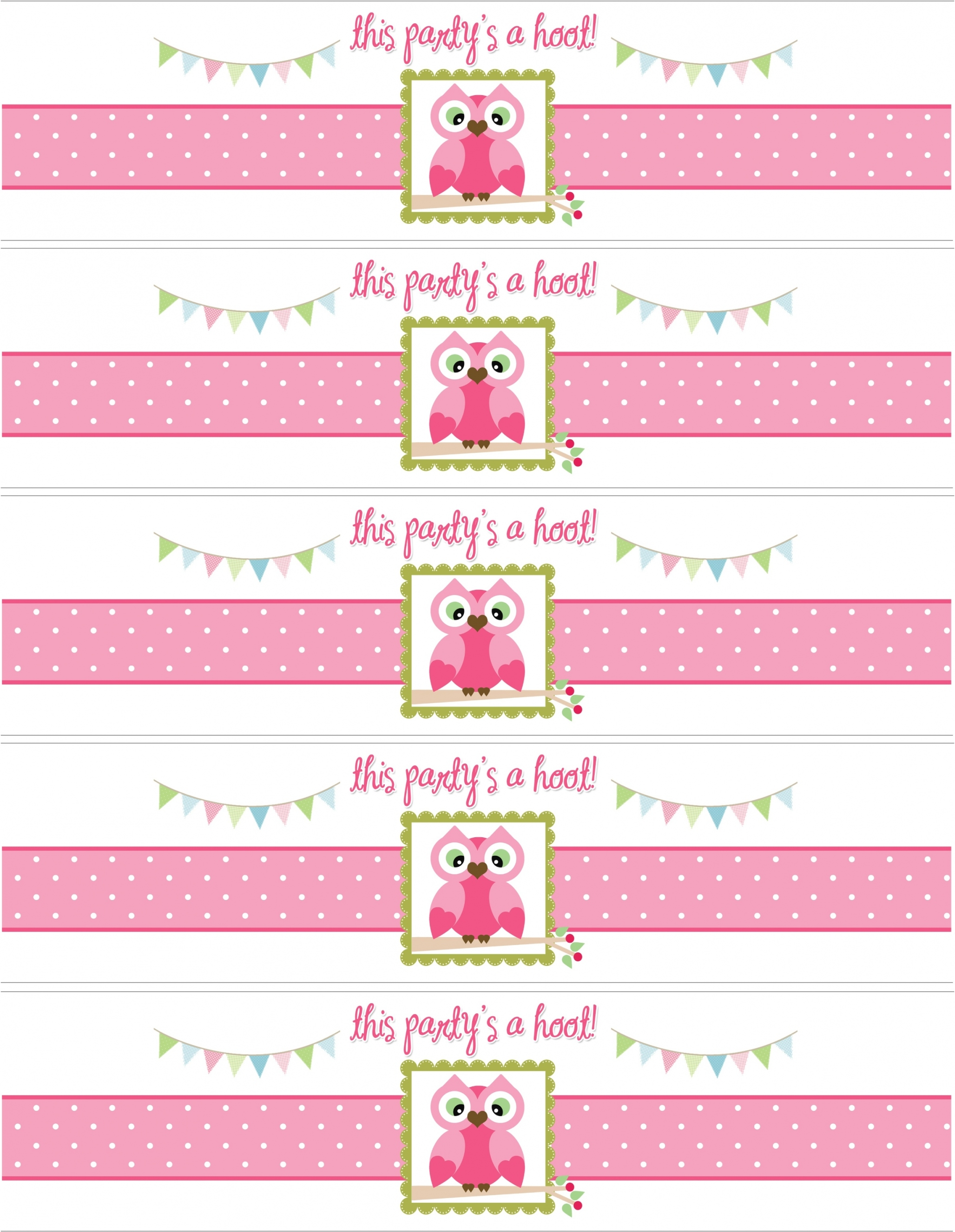 free printable birthday labels ; glamorous-owl-themed-birthday-party-with-free-printables-for-new-printable-water-bottle-labels-baby-shower-on