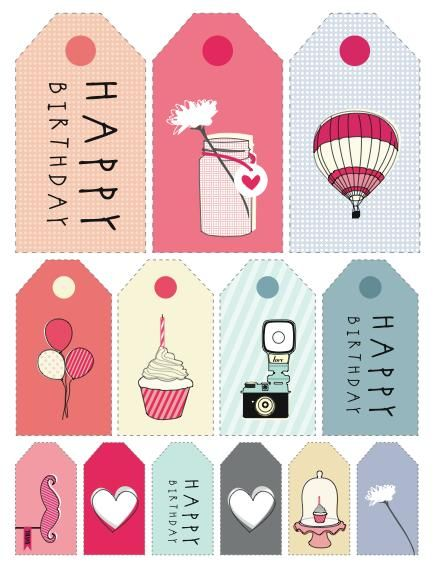 free printable birthday labels and tags ; 32f561d08ea35a6729a47fc2155d6434--printable-tags-free-printables