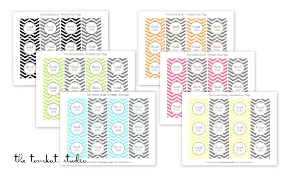 free printable birthday labels and tags ; All-Occassion-Invites-Favors5