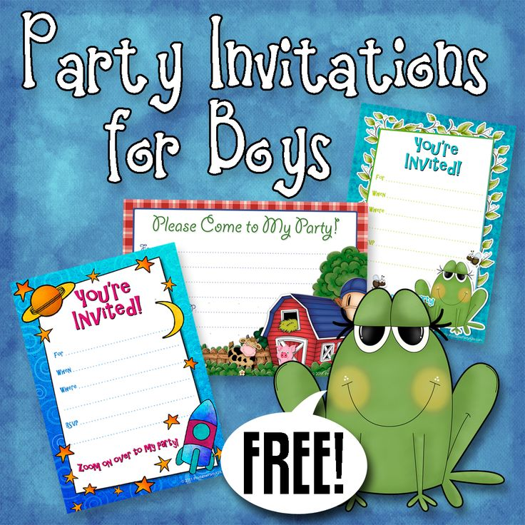free printable birthday party invitations for boys ; boy-birthday-party-invitations-free-printable-65-best-diy-invitations-images-on-pinterest-party-printables