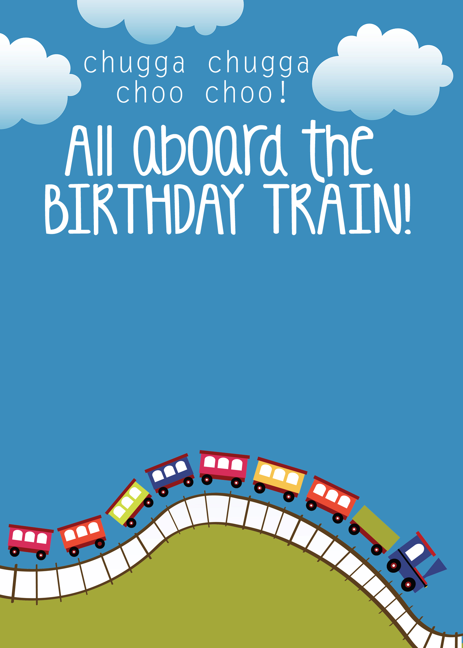 free printable birthday party invitations templates ; train-birthday-party-invitation-template