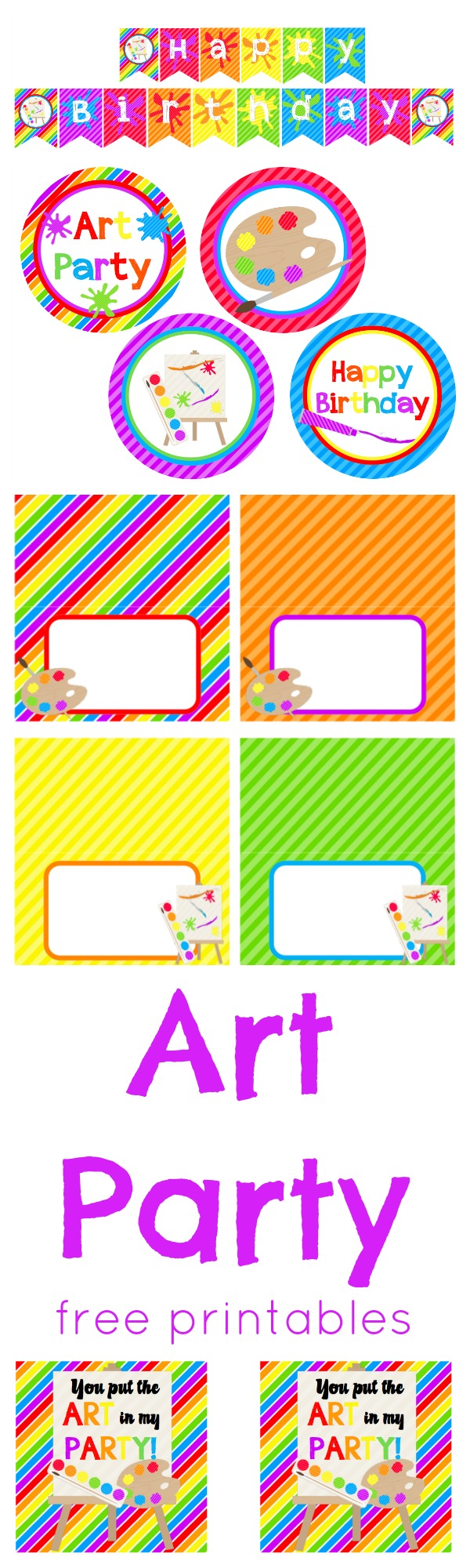 free printable birthday party labels ; Art%2520Party%2520Free%2520Printables%2520PIN_9992e570-d489-4454-a49f-906f0dd71c3d