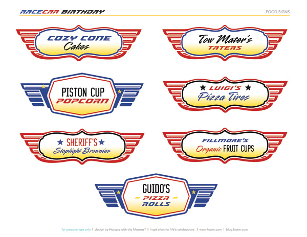 free printable birthday party labels ; race-car-birthday-hwtm-free-printables-food-cards