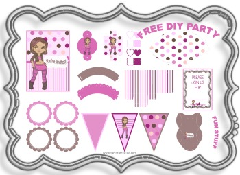free printable birthday party themes ; chocolate-cherry-party-kit-decorations-350