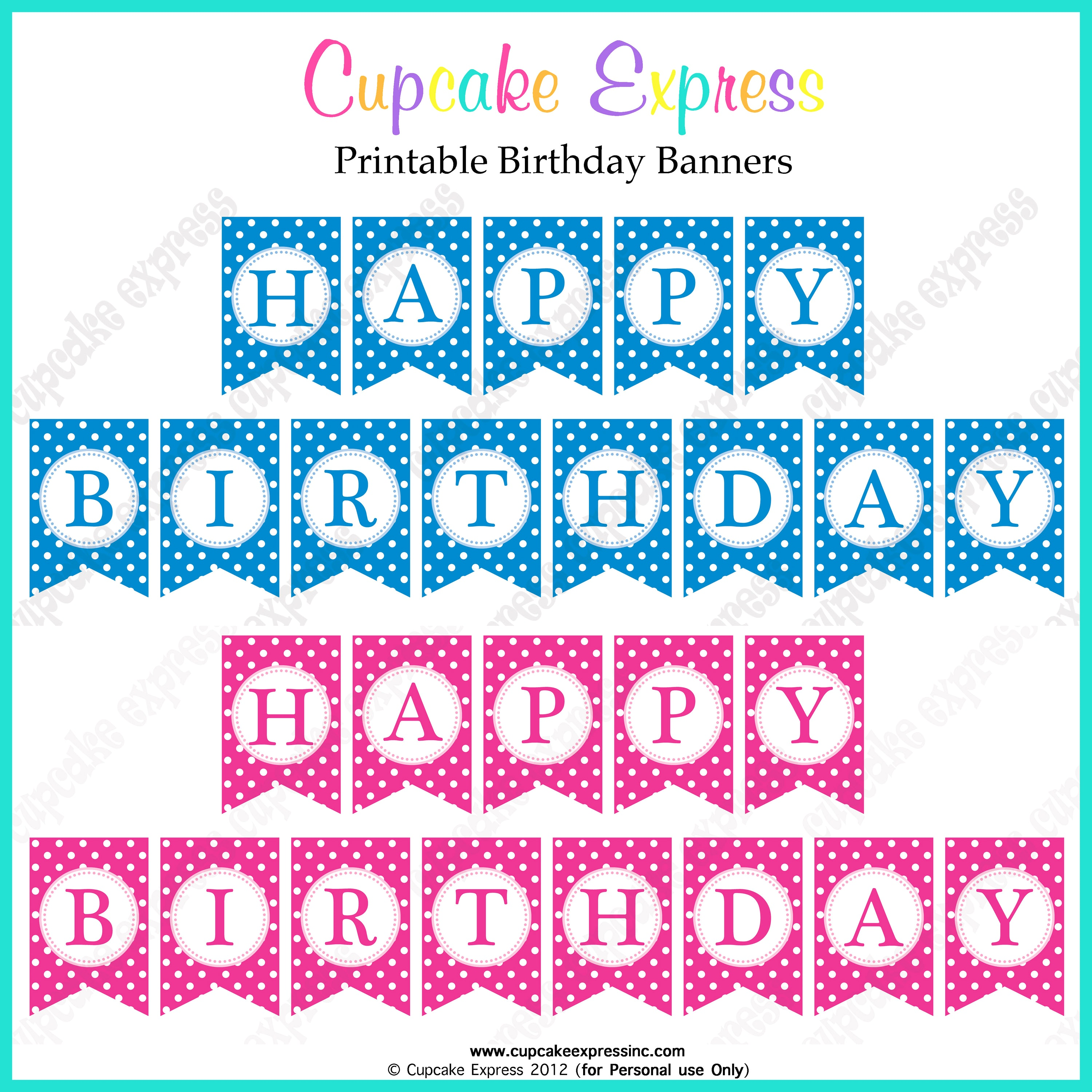 free printable birthday posters and banners ; wonderful-make-happy-birthday-poster-and-incredible-ideas-of-free-printable-birthday-banners-pink-blue-posters-8