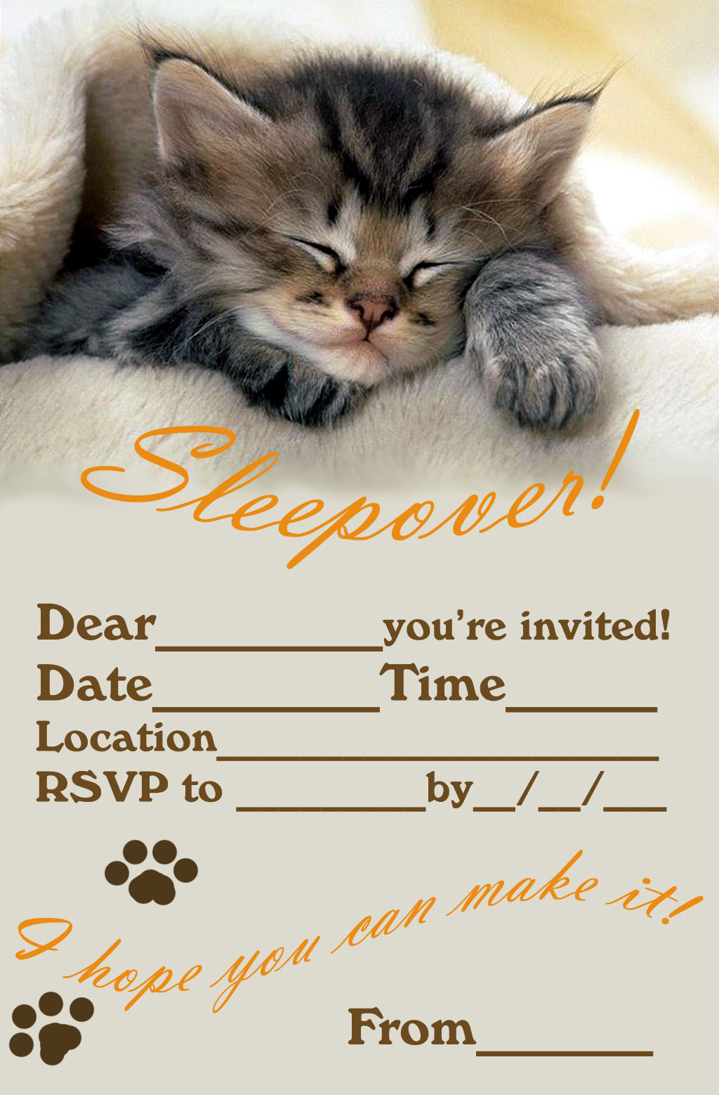 free printable birthday sleepover invitation templates ; 5100ce96bd5f0d0d5c39972787c49df7