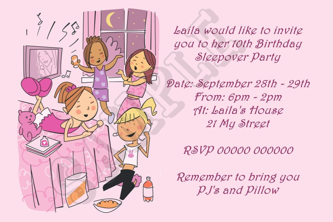 free printable birthday sleepover invitation templates ; 89cb693a23cc5009ffa081282e7cbf3d