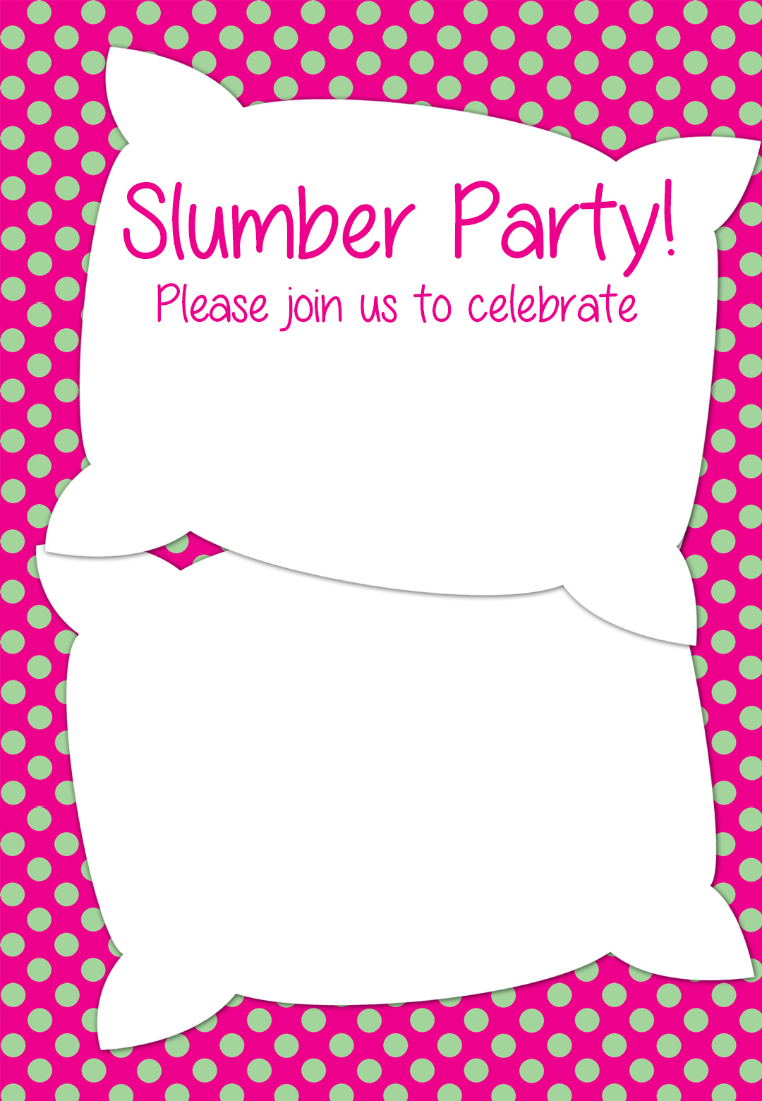 free printable birthday sleepover invitation templates ; printable-sleepover-invitations-in-humorous-page-print