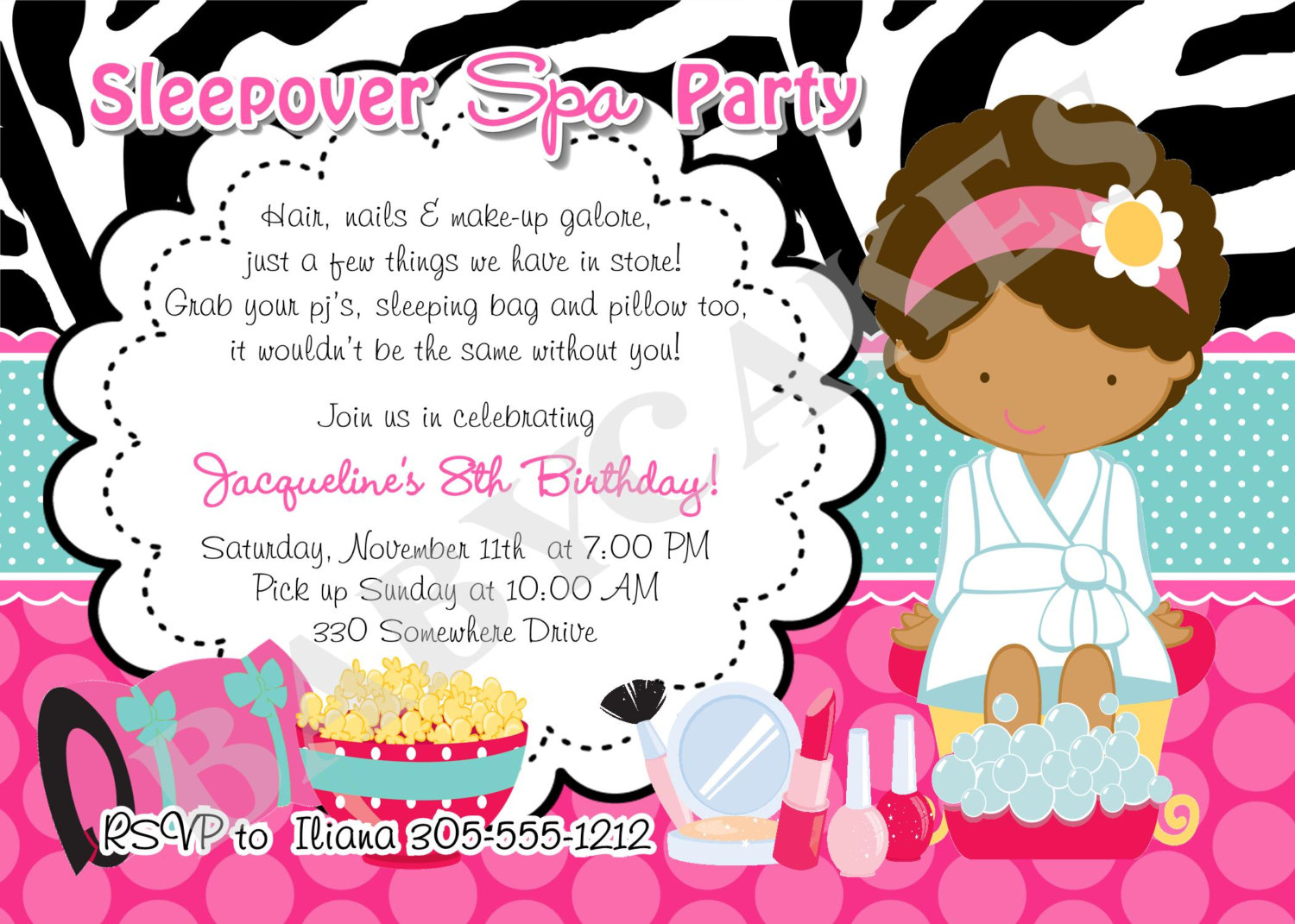 free printable birthday sleepover invitation templates ; superb_slumber_party_invitation_template_along_modest_article_2_5