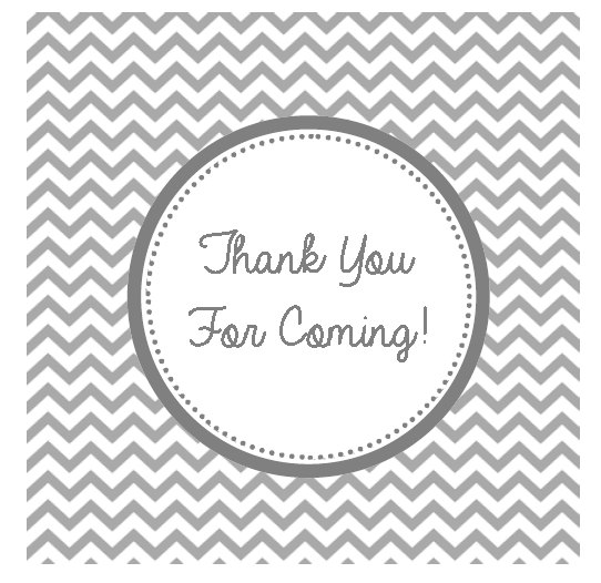 free printable birthday thank you gift tags ; Thank-You-for-Coming-Gift-Tags