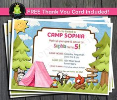 free printable camping themed birthday invitations ; 05a0ffb4392679fb17730c9d0a86f601--camping-birthday-invitations-printable-birthday-invitations