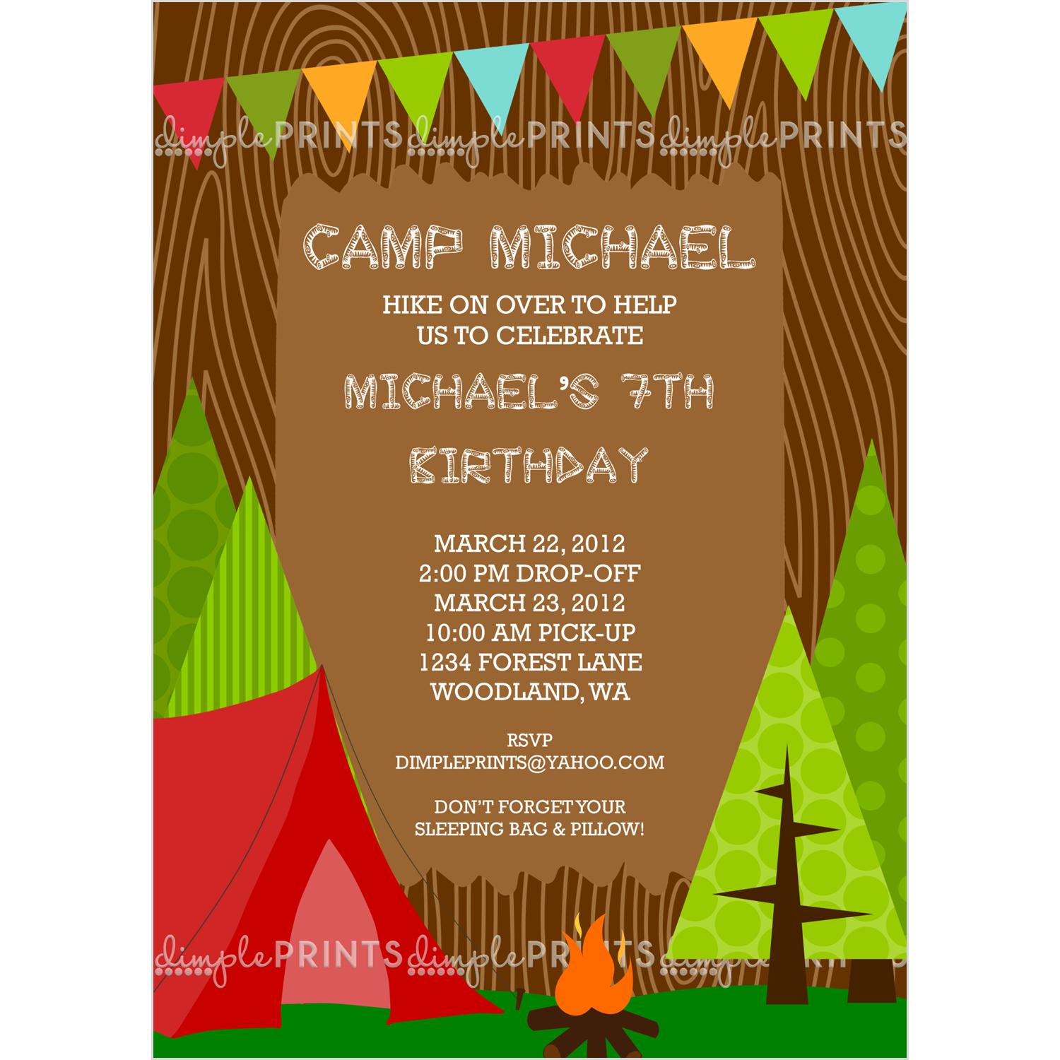 free printable camping themed birthday invitations ; 1ed06a91403e8ed7c31417cc6f8c74ea