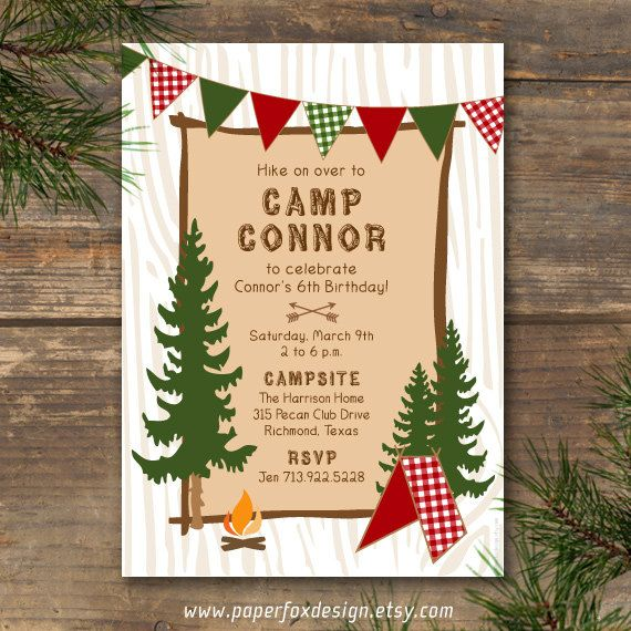 free printable camping themed birthday invitations ; 5dae183495ab7e18aa18ba1699478d91--kids-camping-gear-camping-with-kids