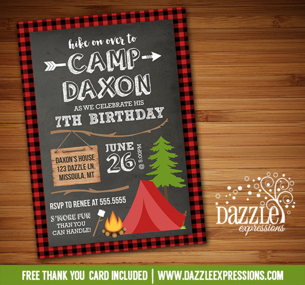 free printable camping themed birthday invitations ; Camping_Invitation_5