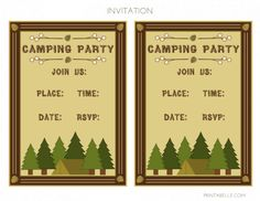 free printable camping themed birthday invitations ; c2ee8fdd4127080ae106f7d23165e96d--camping-parties-camping-theme
