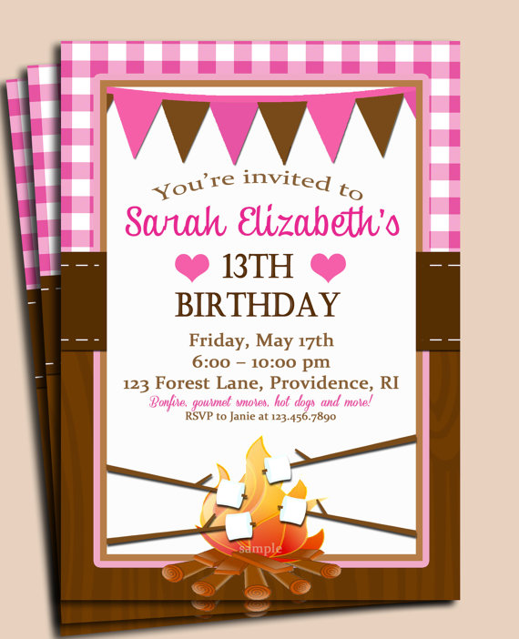 free printable camping themed birthday invitations ; il_570xN