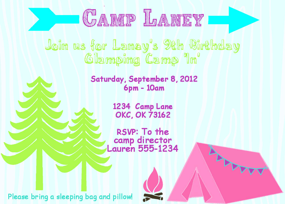 free printable camping themed birthday invitations ; il_fullxfull
