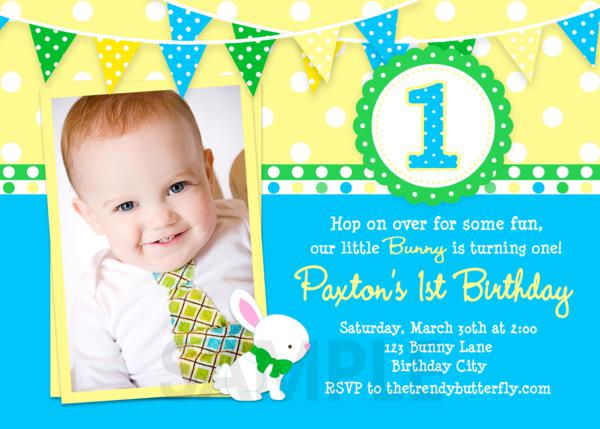 free printable first birthday invitation templates ; Polkadots-1st-Birthday-Invitation-Wording