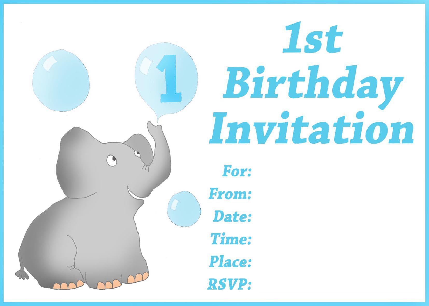 free printable first birthday invitation templates ; birthday-invitation-template-free-printable