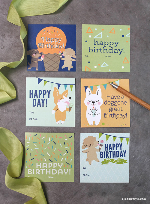 free printable happy birthday tags ; Birthday_Gift_Green_Blue_Tags