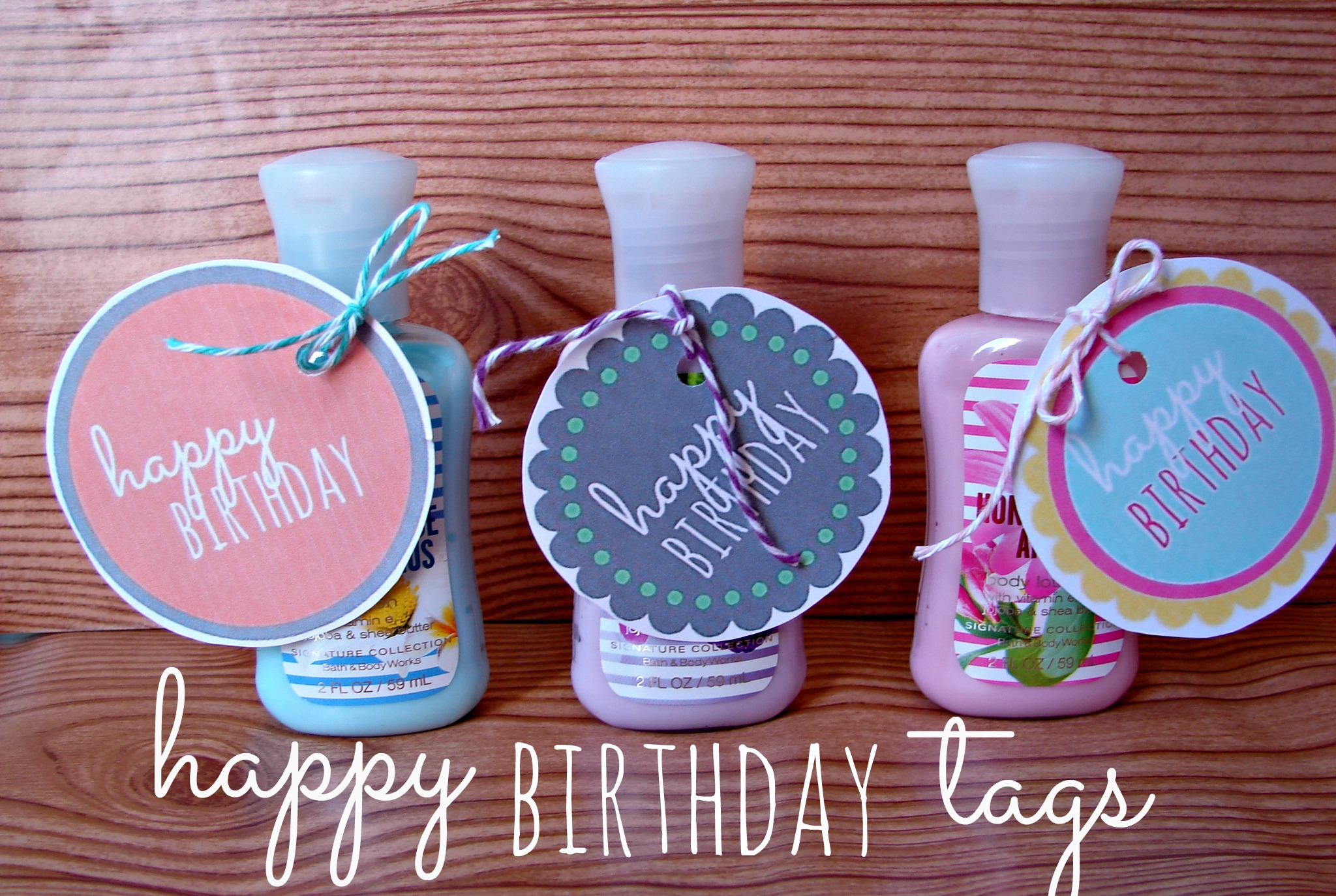 free printable happy birthday tags ; birthday-tags
