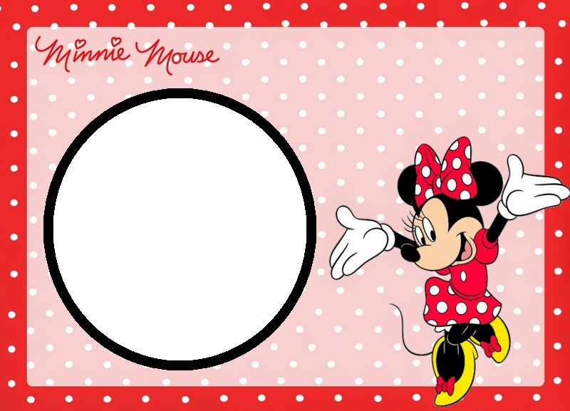 free printable mickey mouse birthday invitation templates ; Minnie-Mouse-Free-Template