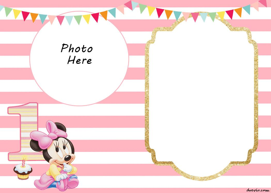 free printable minnie mouse birthday invitation templates ; 8086d6513797d0cf00a02be55ec64100