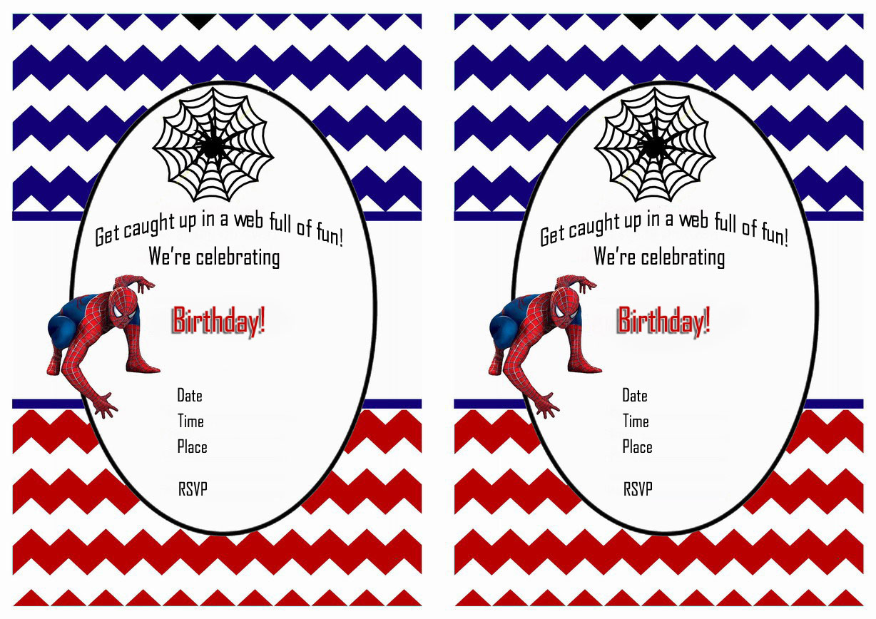 free printable spiderman birthday invitation templates ; Spiderman-Birthday-Invitations-Online