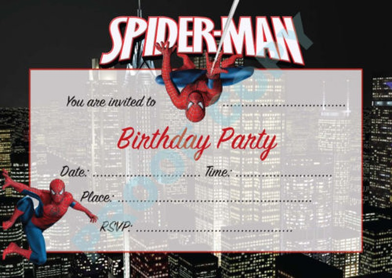 free printable spiderman birthday invitation templates ; Spiderman-Birthday-Invitations-free-template