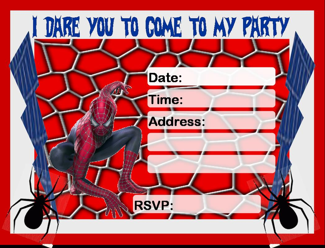 free printable spiderman birthday invitation templates ; d46df33462cfcb8705a709da05bcd7f6