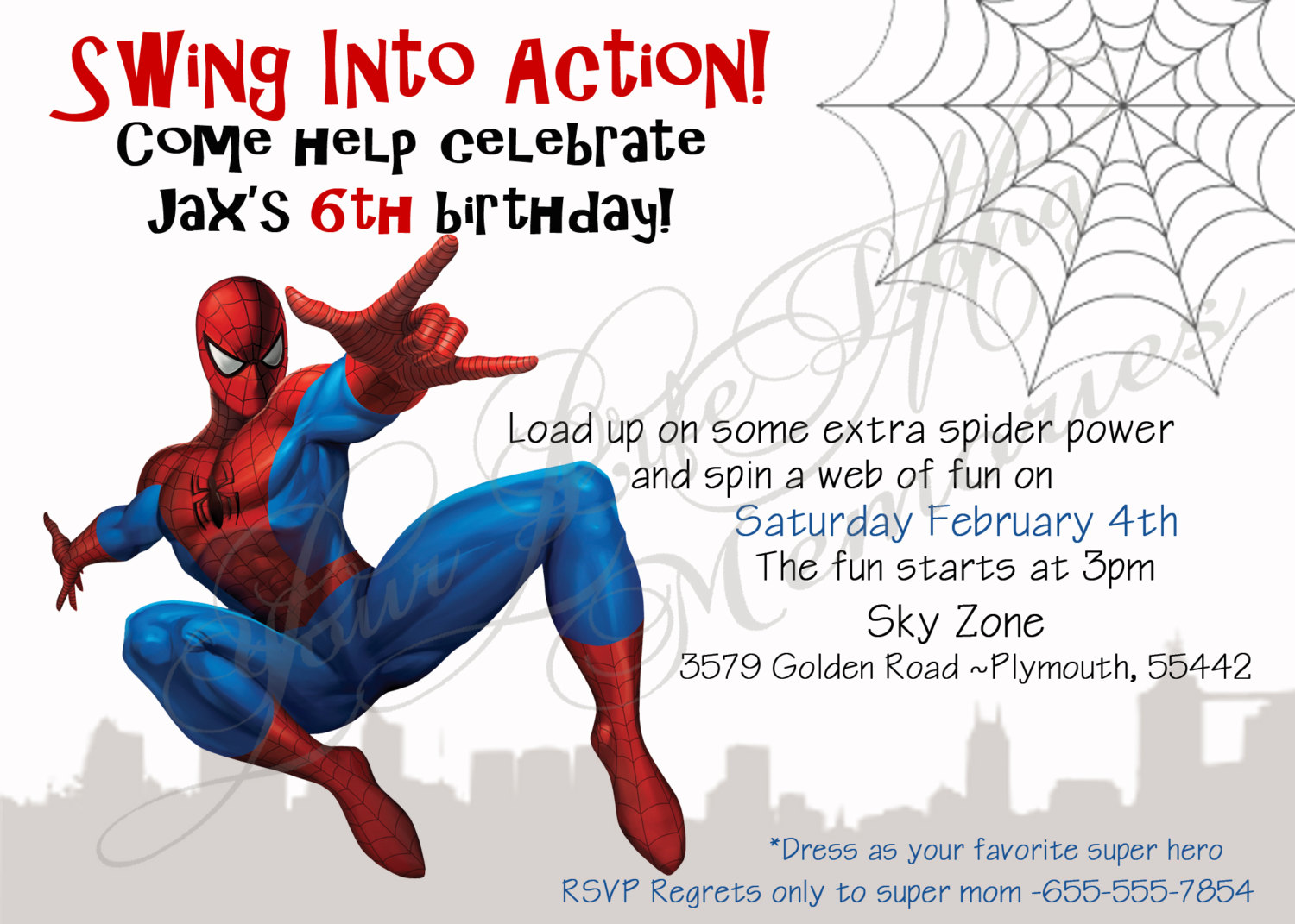 free printable spiderman birthday invitation templates ; elegant_free_spiderman_birthday_invitations_templates_bonfire_with_ilustration_red_hd_size_amazing_idea_design_4_2
