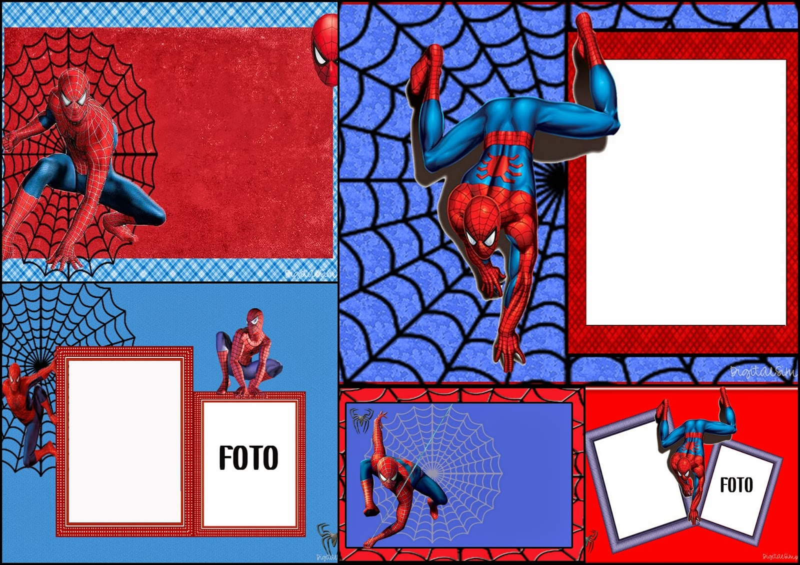 free printable spiderman birthday invitation templates ; free-printable-invitation9