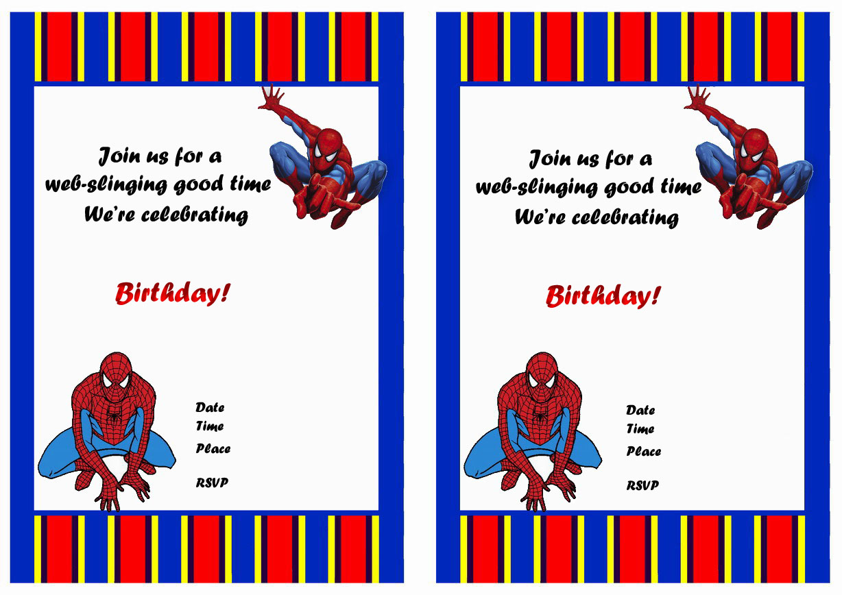 free printable spiderman birthday invitation templates ; spiderman_birthday_invitation4