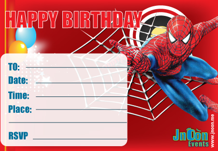 free printable spiderman birthday invitation templates ; spiderman_invitation