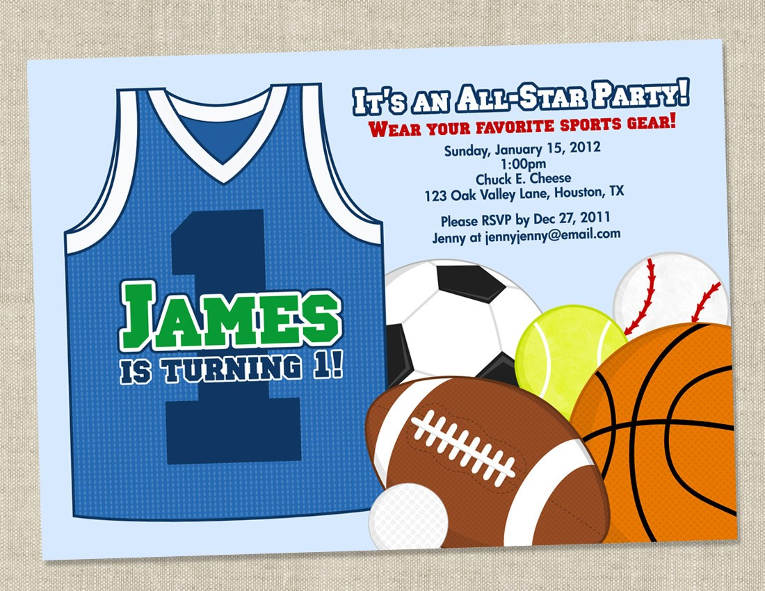 free printable sports themed birthday invitations ; New-Sports-Themed-Birthday-Invitations-As-Free-Printable-Birthday-Party-Invitations