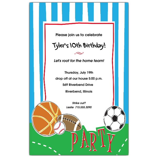 free printable sports themed birthday invitations ; Sports-Party-Birthday-Invitations-p-612-58-DE11SG-150-z