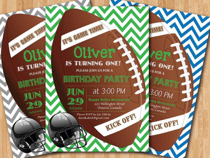 free printable sports themed birthday invitations ; Stunning-Football-Birthday-Invitations-To-Create-Your-Own-Birthday-Invitation-Wording