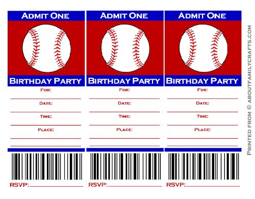 free printable sports themed birthday invitations ; free-printable-baseball-party-invitations-baseball-ticket-birthday-party-invitation-about-family-crafts-free