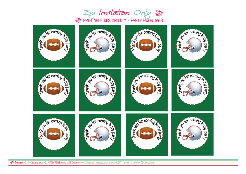 free printable sports themed birthday invitations ; printable-FAVOR-TAGS-for-Catch-My-Party1