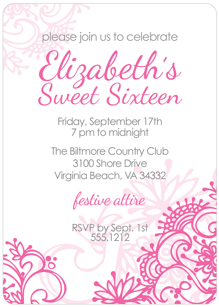 free printable sweet 16 birthday invitation templates ; sweet-16-printable-invitations-free-invitation-templates-for-sweet-16-musicalchairs