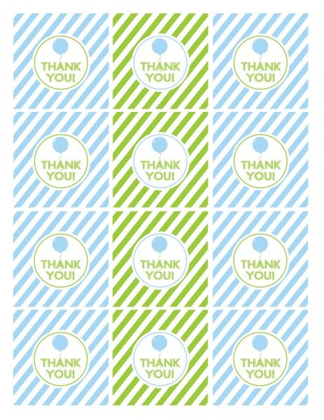 free printable thank you tags for birthday favors ; 294d2610ea20b57a83ef714308137a1f