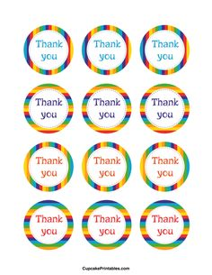 free printable thank you tags for birthday favors ; 414fc84997a23c25153b88eb9cabbf35--cupcake-wraps-cupcake-toppers