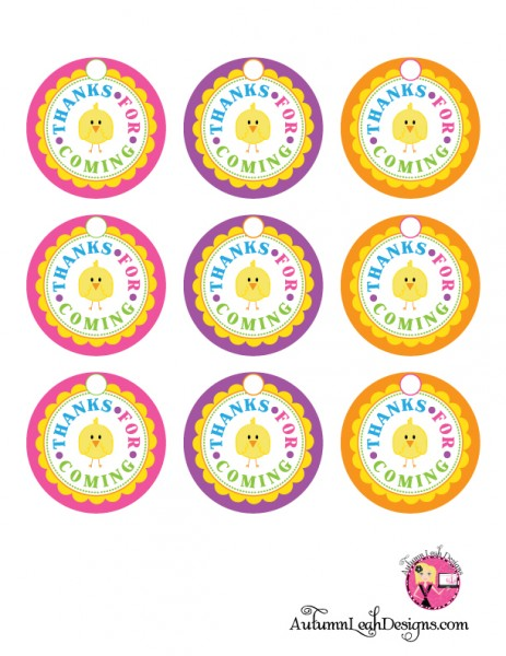 free printable thank you tags for birthday favors ; Easter-thank-you-tags-463x600