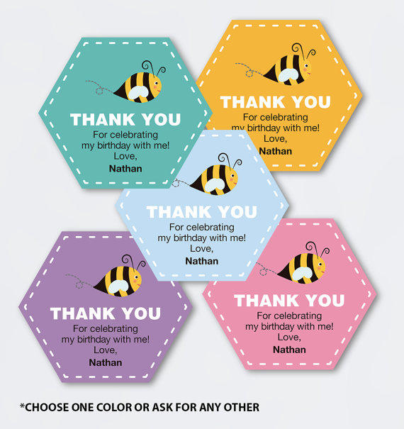 free printable thank you tags for birthday favors ; full_size