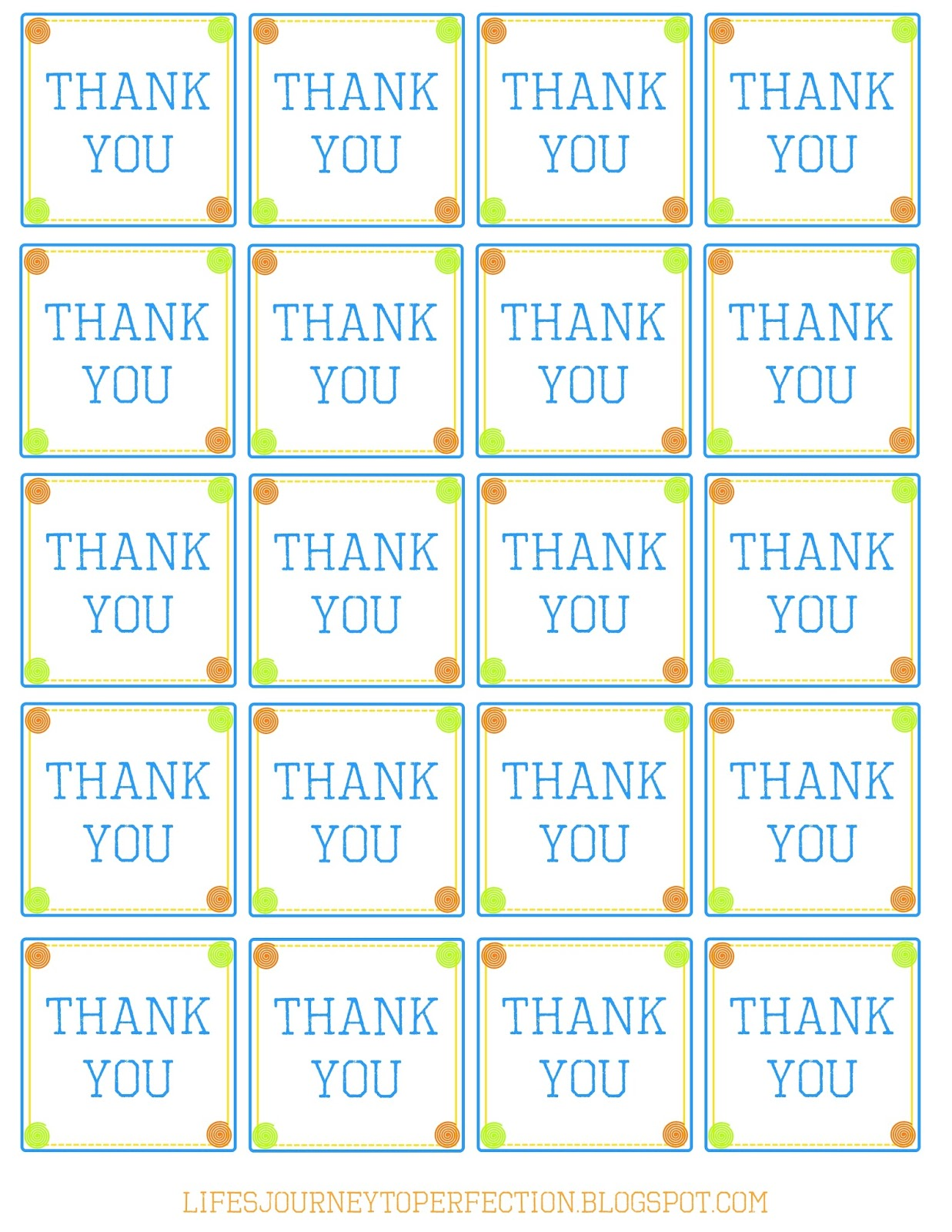 free printable thank you tags for birthday favors ; thanks%252Byou