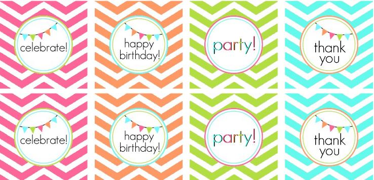 free printable thank you tags for birthdays ; free-party-tags
