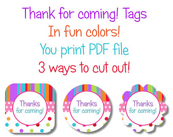 free printable thank you tags for birthdays ; il_340x270