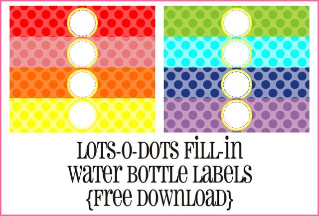 free printable water bottle labels for birthday ; 86df2c3f2c3ffd31f12a691f83ae5a01