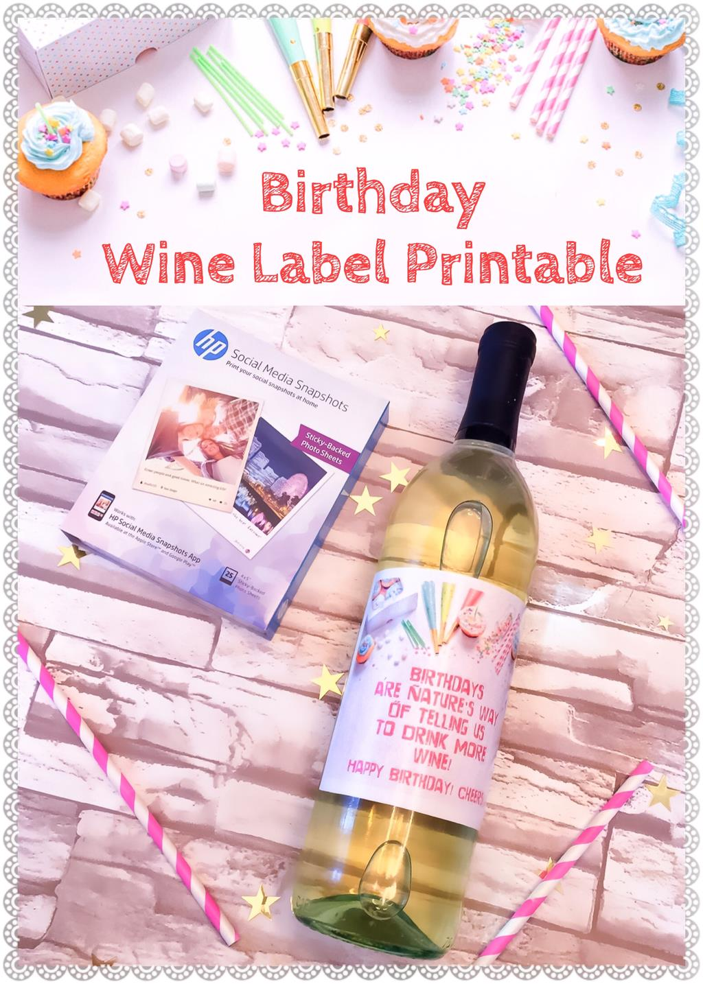 free printable wine labels for birthday ; 200417900